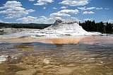 Vacation travel - Castle Geyser - Yellowstone, picture #446