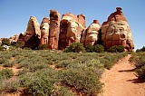 Vacation travel - Chesler Park - Canyonlands, picture #440
