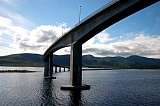 Vacation travel - Curved bridge - Norway fjord, picture #464