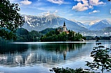 Vacation travel - Lake Bled - Slovenia travel, picture #370
