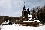 Vacation travel - Old wooden church, picture #518