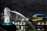 Vacation travel - Singapore Merlion Cityscape, picture #280