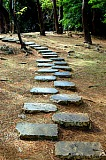 Vacation travel - Stone path - Japan, picture #147