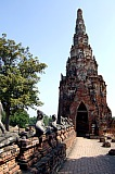 Vacation travel - Wat Chai Wattanaram, picture #128