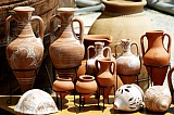 Vacation travel -  greek clay pots - Cyprus, picture #336