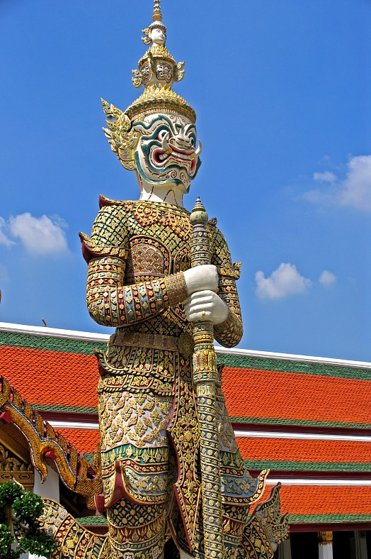 Bangkok Palace Guard - vacation travel photos