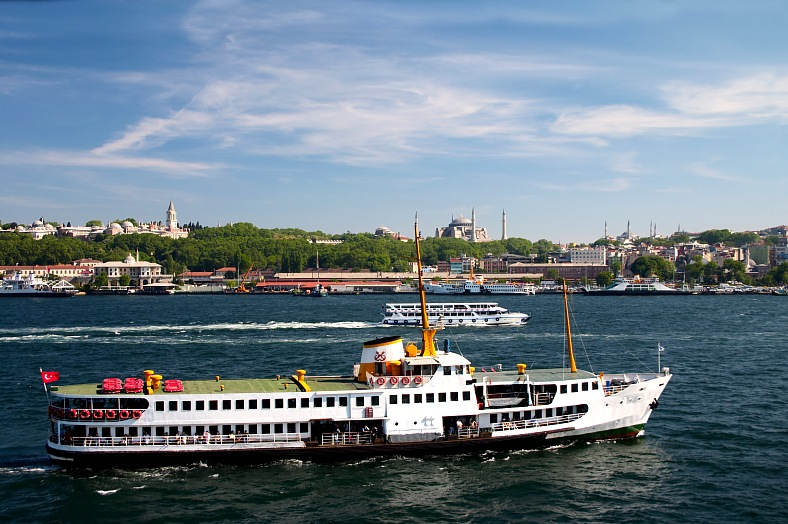 Bosporus, Istanbul, Turkey - vacation travel photos