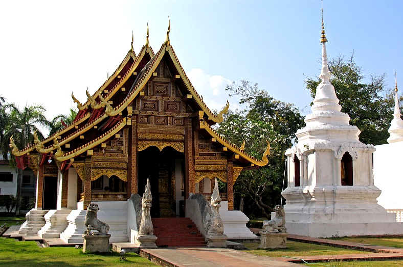 Chang Mai Temple, Thailand - vacation travel photos