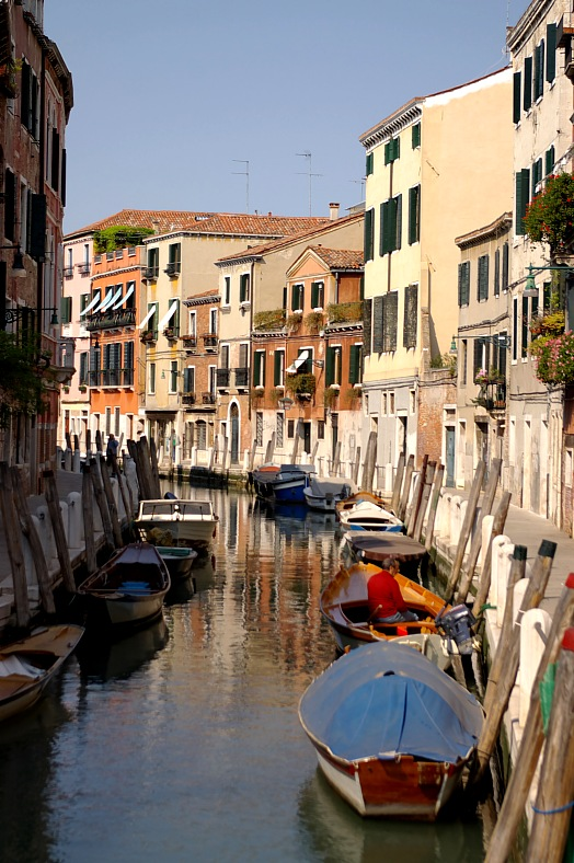 Channel in Venice - vacation travel photos