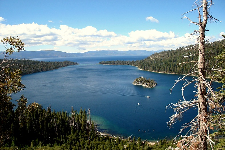 Emerald Bay, Lake Tahoe - vacation travel photos