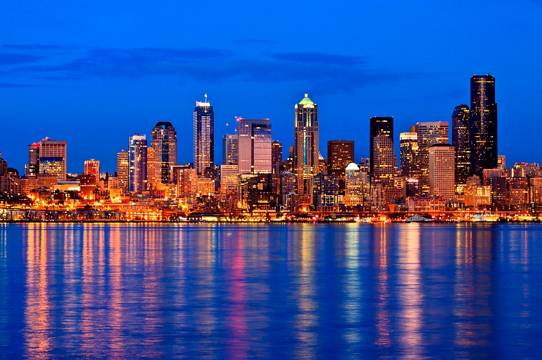 Seattle tourism. Fly to Seattle - vacation travel photos