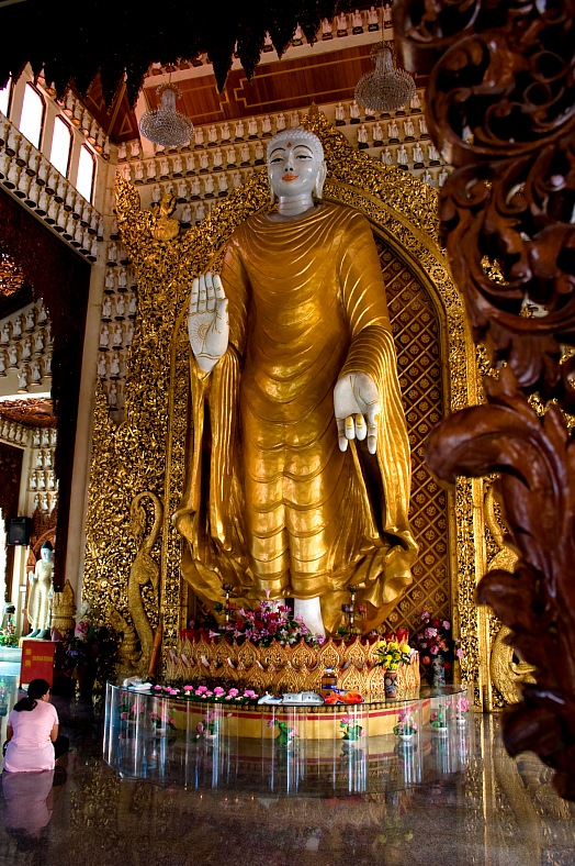 Golden Buddha, Penang - vacation travel photos