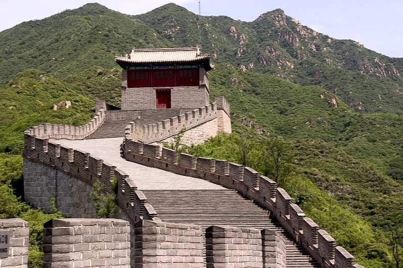 Great Wall Watchtower, China - vacation travel photos