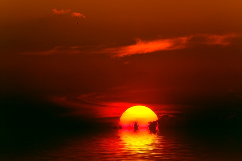 Indian Ocean Sunset