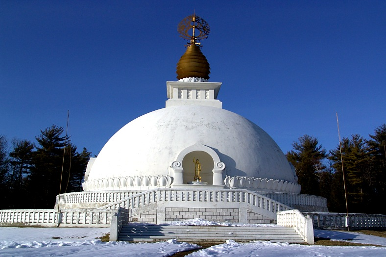 Leverett Peace Pagoda - vacation travel photos