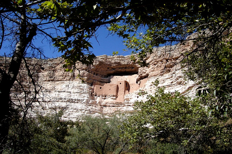 Montezuma Castle, Arizona - vacation travel photos