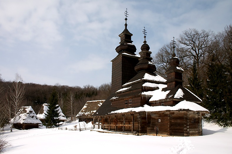 Old wooden church - vacation travel photos
