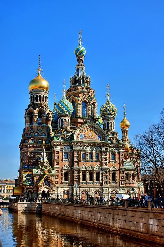 Church of the Savior on Blood, Russia, Saint Petersburg - vacation travel photos