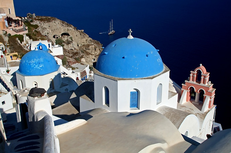 Santorini Island, Greece - vacation travel photos