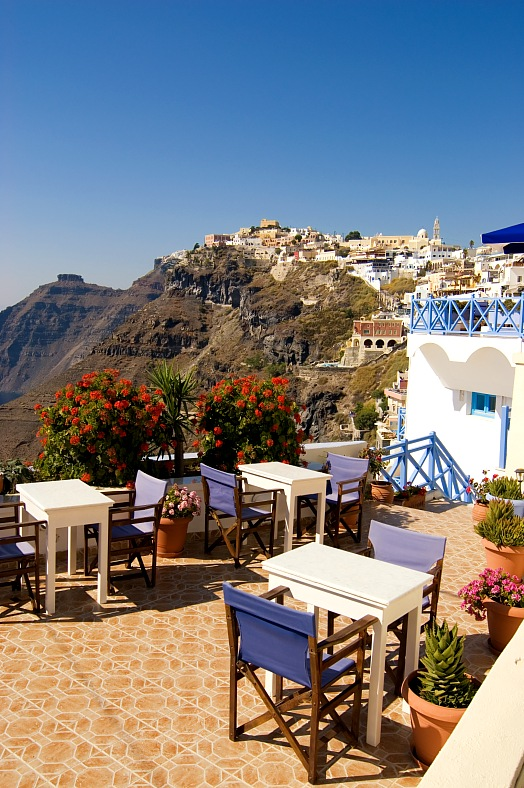 Santorini Restaurant - vacation travel photos