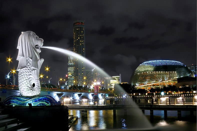 Singapore Tourism Asia Travel Singapore Merlion