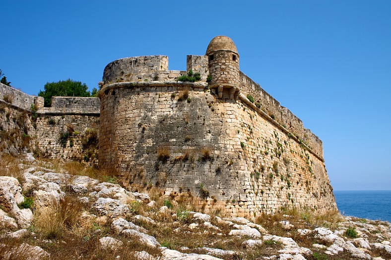 Stronghold in Rethimnon, Crete - vacation travel photos