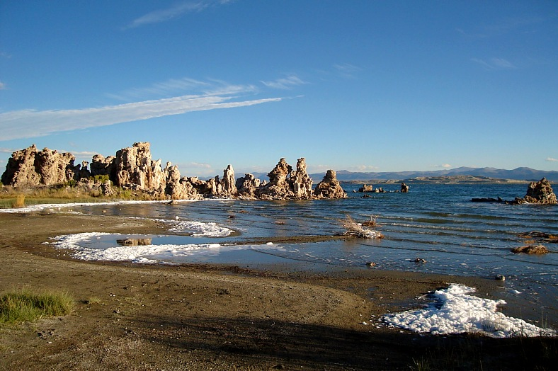 Tufas, Mono Lake, California - vacation travel photos