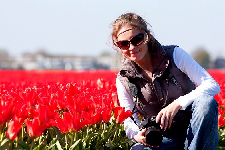 Tulips, Holland - vacation travel photos
