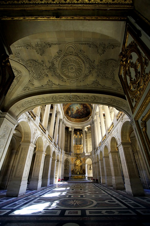 France tourism - Royal Chapel of Versailles Palace. France tours, Paris.
