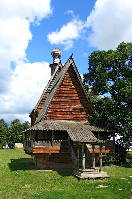 Wooden church - vacation travel photos
