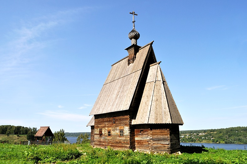 Wooden church, Ples, Russia - vacation travel photos